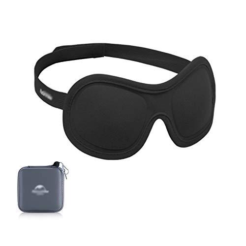 Antifaz para Dormir Máscara de ojo del sueño for los hombres de las mujeres, 3D Copa contorneada máscara for dormir y con los ojos vendados con la bolsa del recorrido, la máscara de sueño de la noche,