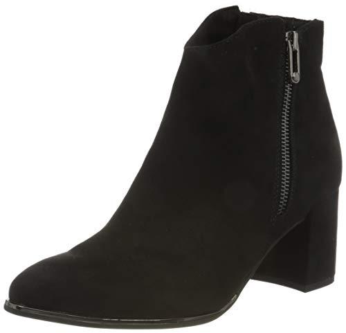 MARCO TOZZI Damen 2-2-25015-25 Stiefelette Mode-Stiefel, Black, 39 EU