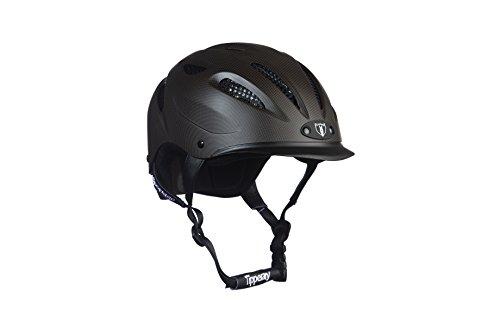 Tipperary Sportage Equestrian Sport Helmet, Small, Cocoa Brown