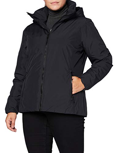 CMP Edredón reversible impermeable con capucha para mujer., Mujer, Chaqueta, 30K3616, Negro , 52