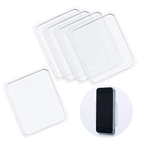 15 Pieces Sticky Gel Pads Silicone Sticky Pads Sticky Gripping Pads Anti-Slip Pads for Car Cell-Phone Office