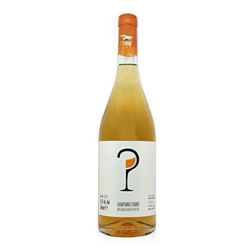takestop® Orange Wine Fiano Macerato Vino Campano Linea IGT 2019 Biologico Vino Rosso Colore Arancio Fruttato