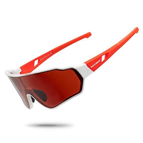 ROCKBROS Gafas de Sol Polarizadas Deportivas para Hombre y M