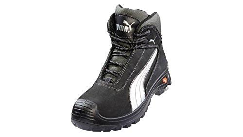 Puma Safety Cascades Mid Botas de seguridad con cordones negro UK11 - EU46 - US12