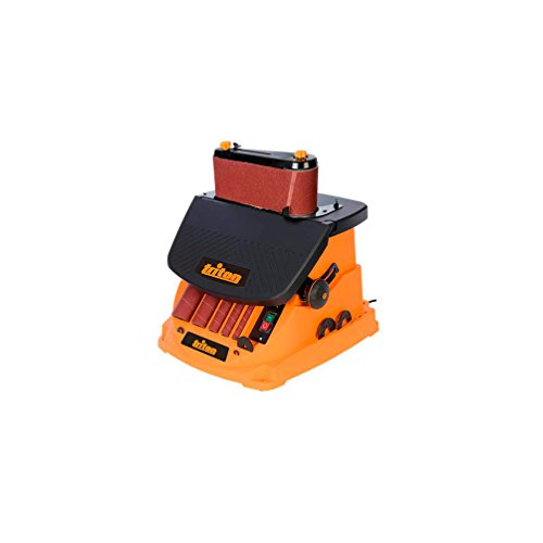 Triton 977604 Oszillierender Spindel-und Bandschleifer, 450 W TSPST450, orange (UK Stecker und Version)