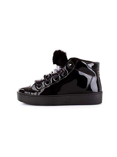 Guess Uriala, Sneaker a Collo Alto Donna, Nero Black, 38 EU
