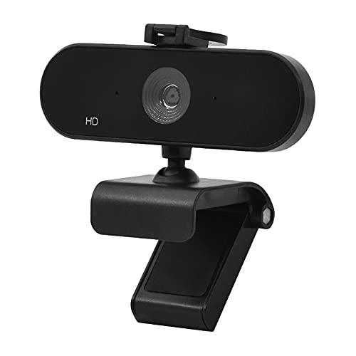 CHENPENG Webcam 1080P HD Streaming Camera, Cámara Web para Computadora, con Micrófono Y Enfoque Automático, Plug and Play para PC, Computadora Portátil,...