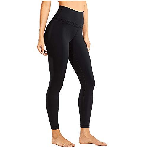 GenericBrands Mallas de Deporte de Mujer, Leggins Pantalon Deporte Yoga,Cintura Fina Levantamiento de Cadera Leggings