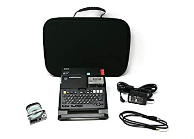 LABELWORKS LW-PX750PCD Industrial Label Maker Kit - Complete Kit with Accessories, Compatible with Large Variety of Tape Types, Portable Handheld Label Printer