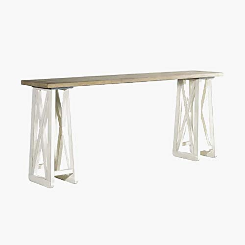 Wood Dining Table - Rustic Dining Table - White