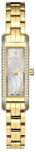 Roamer Damen-Armbanduhr Vintageline 4 Analog Quarz AEU831 4825 PE