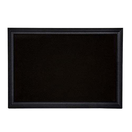 Cork Board with Wood Frame, Multiple Sizes | Bulletin Board | Pin Board | Memo Board | Corkboard | Vision Board Supplies | Cork Board | Cork Board Bulletin Board | Cork Boards | (Black, 30X20)