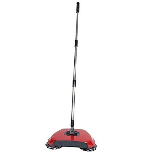 ALL IN ONE Automatico mano spinta Scopa Scopa con spazzole rotanti Scopa Senza corrente Aspirapolvere Sweeping macchina 360Rotary Original