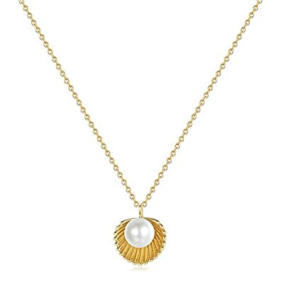 Dainty Necklaces for Women Teen Girls - Tiny Go...