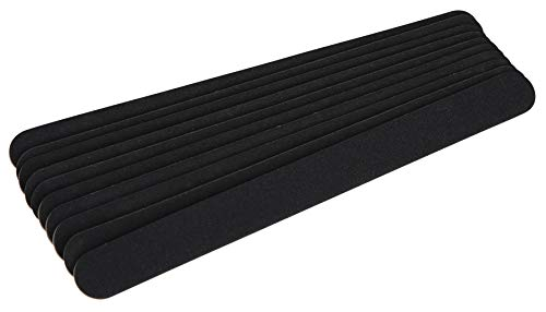 The Edge Black Beauty 240/240 Grit Nail File (Pack of 10)
