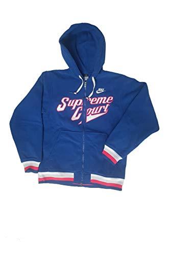 Nike - Sudadera col 442 137404 azul marino / blanco M