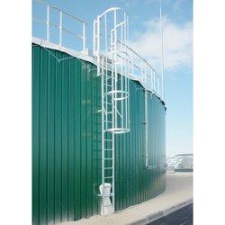 Steigleiter Hymer bis Gebäudehöhe/Steighöhe 10,80 m inklusive 20 Wandbefestigungen