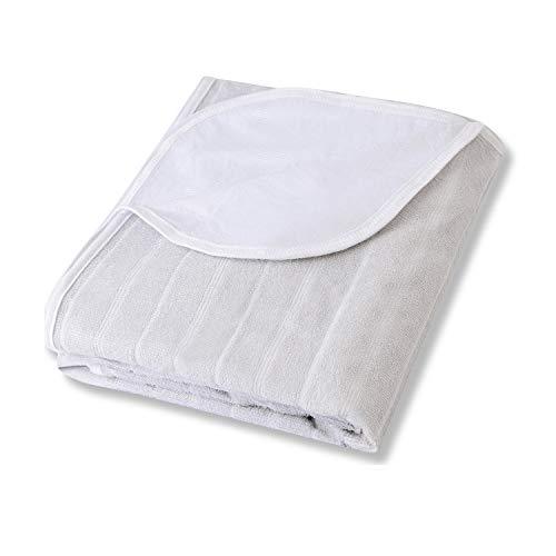 Karcore 160x200 Matratzenschoner Wasserdicht Atmungsaktive Matratzenauflage Anti-Allergie Matratzenschutz, Grau