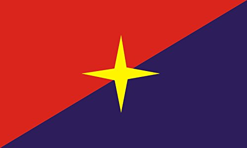 magFlags Bandera Large DavostanFlag | Virtual Republic of Davostan in The Web-Based Political Strategy Game en Particracy#Online Game | Bandera Paisaje | 1.35m² | 90x150cm
