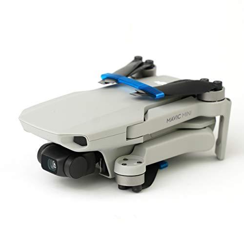 3dquad Transport Schutz für Propeller, Blade Holder, Clip für DJI Mavic Mini Drohne (blau)
