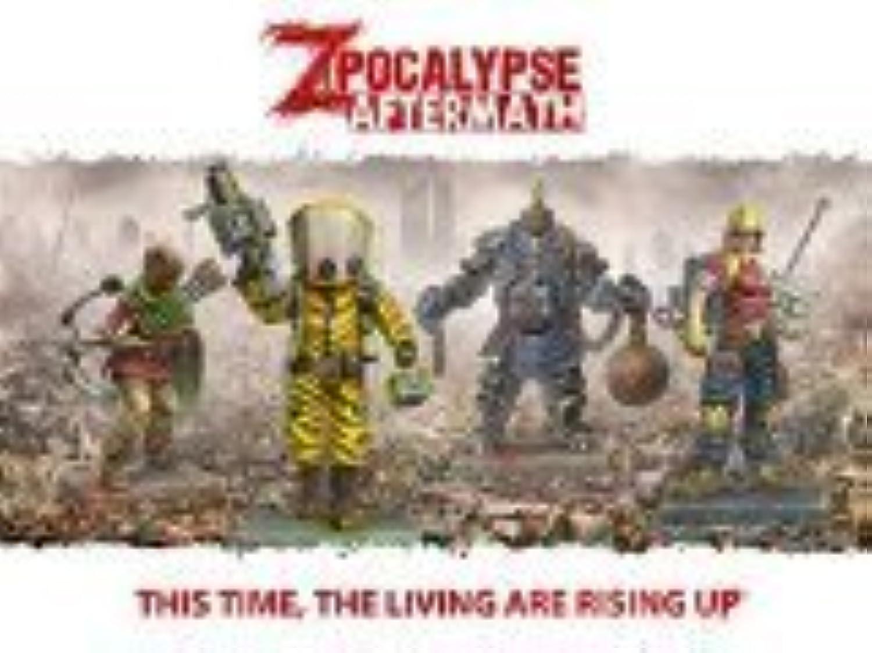 Zpocalypse Aftermath Z Team Alpha Game by Grünbrier Games