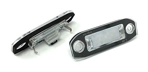 Preisvergleich Produktbild Led Kennzeichenbeleuchtung passend für Volvo C30 S40 V50 S60 S80 V70 XC60 XC70 XC90