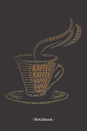 Kaffee: Notizbuch, Notizblock   Kariert, Karierte, Kariertes, Karo-Raster   DIN A5, 120 Seiten   Notizen, Ideen, Gedanken, Erinnerungen, Termine, Planer, Tagebuch, Organisation