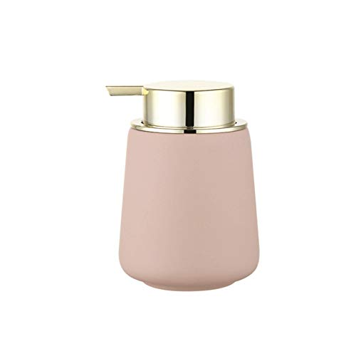 Dispensadores de loción Botella de la bomba del dispensador de jabón líquido de cerámica decorativa para el baño, el fregadero de la cocina - sostiene el jabón de la mano, el jabón del plato.Botella d