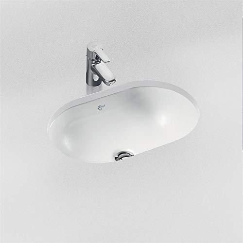 Ideal Standard E502001 Concept Unterbau-Waschbecken, oval, 55 cm