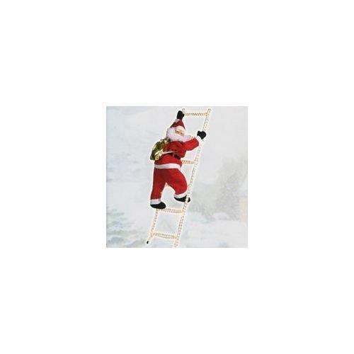 Babbo Natale Girotondotre scala luminosa cm. 90 [GIROTONDOTRE]