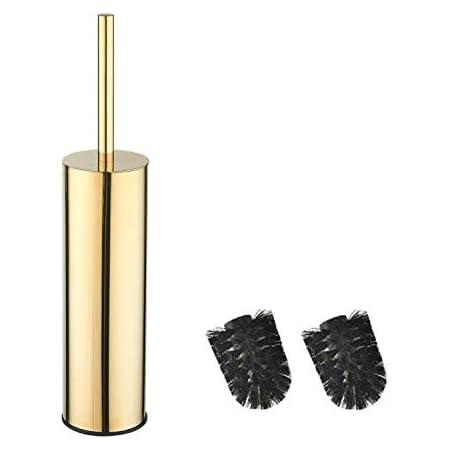 bgl Long seau rond en acier inoxydable 304 pour brosse WC (or)