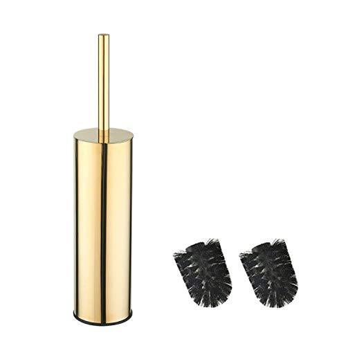 bgl Soporte redondo para escobilla de inodoro de acero inoxidable 304 (dorado)