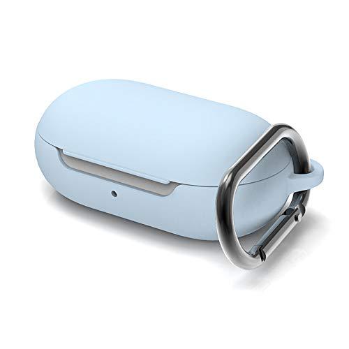 Easyssok Schutzhülle für Galaxy Buds (schlankes Design, Hartschale, R&umschutz) himmelblau
