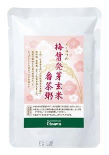 オーサワの梅醤発芽玄米番茶粥 200g×3個           JAN:4932828061399