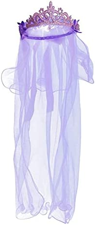 XKMY Delicate Flower Limited time cheap sale Girl Veils Layers Wedding Crown 67% OFF of fixed price Two Communi