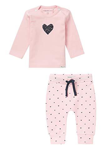 Noppies Baby Mädchen/Jungen/Unisex Cardigan Geschenkverpackung Basic Größe: 44 Farbe: rosa 67369+67363