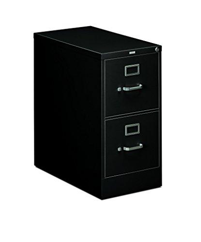 HON 2-Drawer Office Filing Cabinet - 310 Series Full-Suspension Letter File Cabinet, 26.5