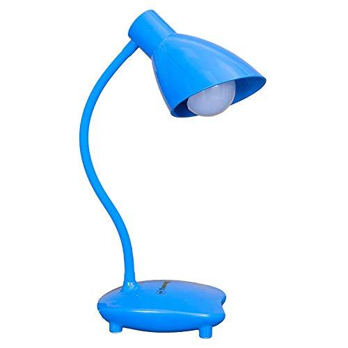 LAMPARA DE MESA DE LA MANGUERA EL MODELO BASE COLOR AZUL Solo se puede utilizar bombilla LED 5w.