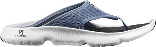 Salomon Herren Reelax Break 5.0 Walking Shoe, Blau Copen Blue White Black, 44.5 EU