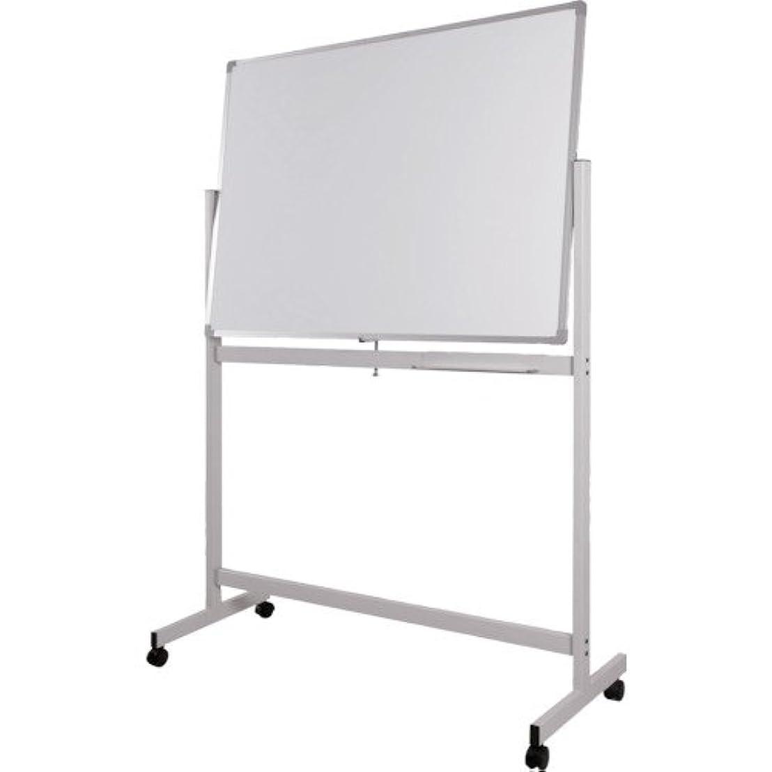 透けるいっぱいあそこトラスコ中山 WRITEBEST 回転ボード両面 白×白 1200×1500 DPS45
