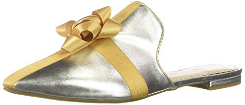 Katy Perry Women's The Stephanie Mule, Silver, 6 M US