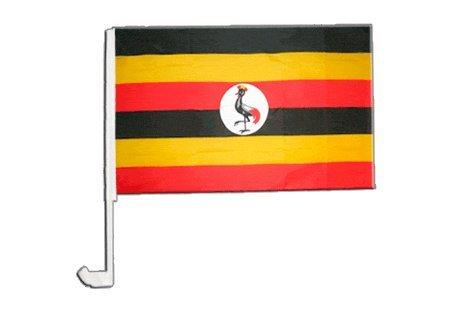 Drapeau de voiture Ouganda - 30 x 40 cm