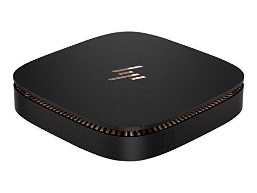 HP X9U63UT Elite Slice Desktop (6. Generation Intel® Core™ i5 Prozessor, 8 GB Speicher, 256 GB SSD Speicher, Windows 10 Pro 64)