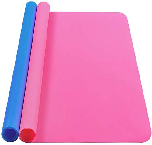 Esteras de silicona para manualidades, 2 unidades, tamaño A3, tamaño grande, de...
