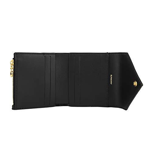 バーバリー(BURBERRY)2つ折り財布8026114A1189ヴィンテージチェック&レザーブラック黒[並行輸入品]