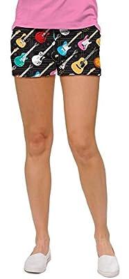 Loudmouth Damen Mini-Shorts Rockstar