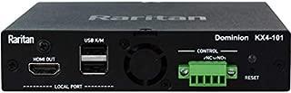 Raritan Dominion KX IV-101 Ultra High Performance 1-Port 4K KVM-Over-IP Switch - 1 Computer(s) - 1 Local User(s) - 4096 x 2160-1 x Network (RJ-45) - 3 x USB - 2 x HDMI - Rack-mountable - 1U - TAA Co