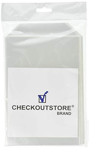 100 CheckOutStore Clear Storage Pockets (5 5/8 x 8 1/2) |