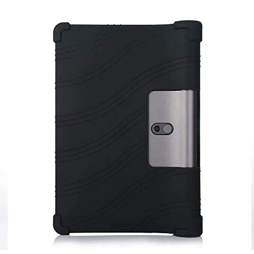 Hannuo Funda de Tableta para Lenovo Yoga Tab 5 YT-X705F YT-X705X X705F X705X 10,1 Funda de plástico de Silicona Suave Funda-Funda de Silicona 2