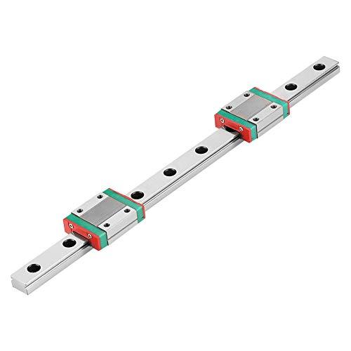 Carril de guía lineal, Bloque de carril lineal, Cojinetes Acero Ligero Alta precisión para equipos de medición de precisión Equipo pequeño Equipo automático Máquina
